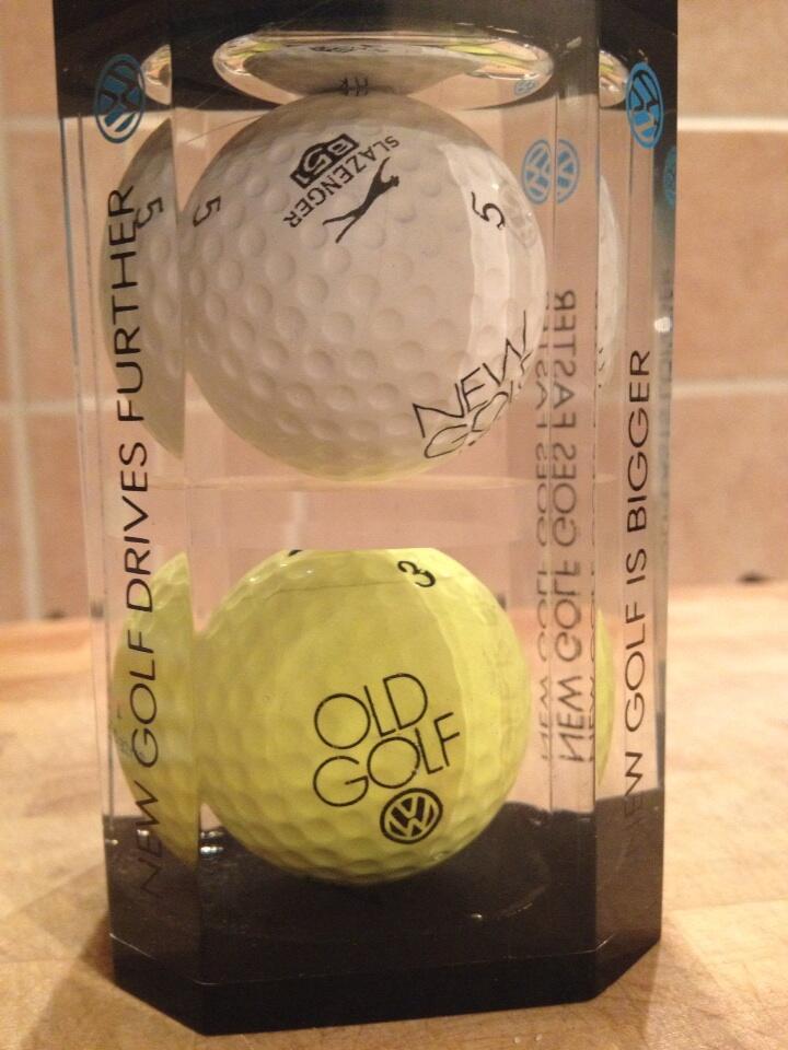 Logo Golf Balls cover image