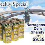Providence RI - Summer is Dels Shandy TIME! $9.35! 125 Atwells Under the Arch! FREE Parking! fhwine.us http://t.co/AB77rh0sOe