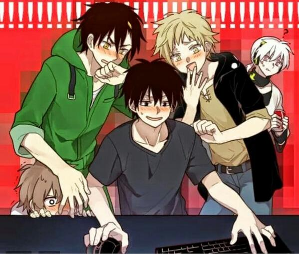 When guys use the power of 'Google' 😝😝😝😝   *Kagerou Project http://t.co/MjbP3MLjFG
