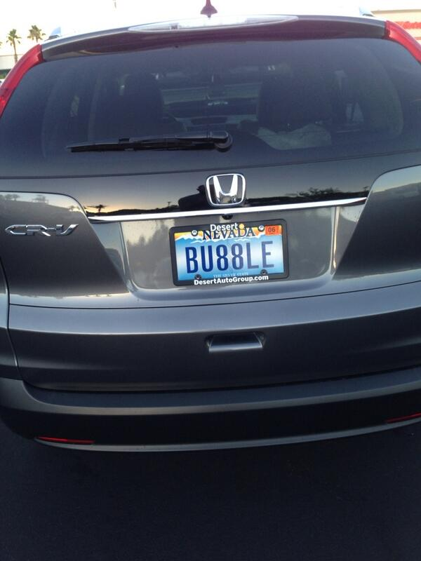A #LicensePlate that seems particularly fitting for today. http://t.co/zpAWakyJOW