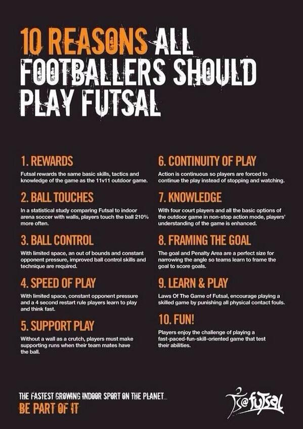RT @EliteSoccer9: Good luck today to all our Elite Soccer Futsal Club players in the Tameside Futsal Tournament #Tameside #Futsal http://t.co/cP5tR1zh1B