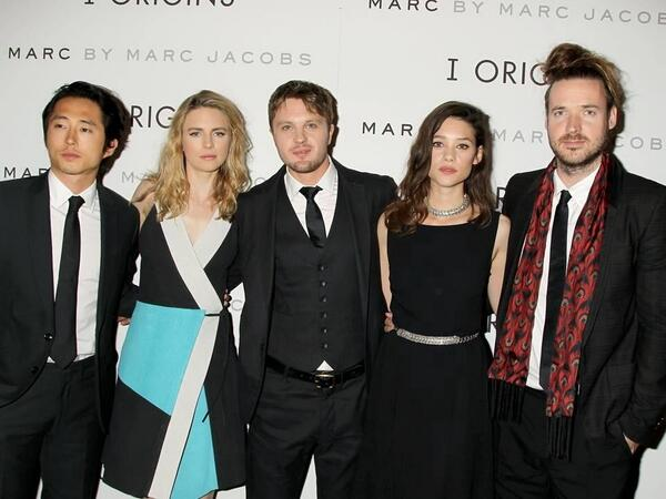 Best cast!  See #IO next Friday @steveyeun @britmarling Michael Pitt @BergesFrisbey  IOrigins NYC Premiere, http://t.co/Bg692fXa7l""
