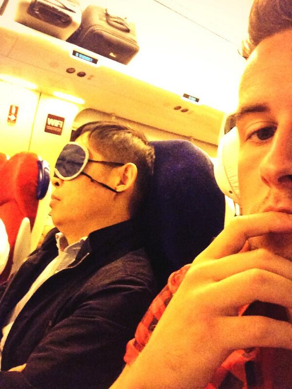 1000 retweets and I'll ping this guys sleeping mask and film it