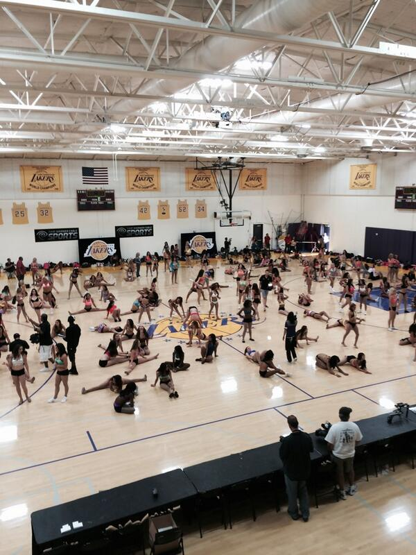 2014-2015 Laker Girl Auditions have begun! http://t.co/Nfyrkfj0GI
