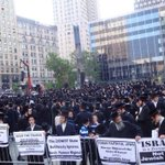 RT @sherryrehman: Zoom into this photo to see which community in New York is protesting against #Gaza attack, condemning #Israel http://t.co/s9aTityWTd
