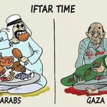 How Arab leaders breaking their fast& hw our brothers in #Palestine #GazaUnderAttack #DEATHTOISRAEL #StopBombingGaza http://t.co/aLMPOzevtb