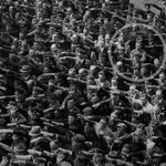 RT @Razarumi: August Landmesser, a German engaged to a Jewish woman, refused to do the Nazi salute. Hamburg, 1936 http://t.co/nt0qGOelSl v @HistoryInPics