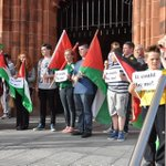 RT @Isham_AlAssad: Protest rallies #Ireland with #Palestine: Solidarity march for support with #Gaza, #Palestine, from the #Ireland. http://t.co/4vUnhBxe5P