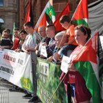 RT @Isham_AlAssad: Protest rally #Ireland with #Palestine: Solidarity march for support with #Gaza, #Palestine, from the #Ireland. http://t.co/ZRE8ycgEkC