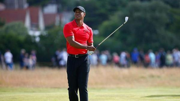 .@TigerWoods closes out @The_Open -- his 1st major of the season -- with a 3-over 75: