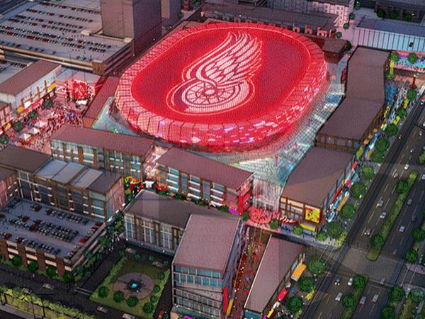 First images of new @DetroitRedWings arena released. http://t.co/dheWzFuYNA http://t.co/WS0LlOLm8v