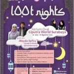 "RT @eventsurabaya: Blissfull Ramadhan w/ @HijabersSby ""1001 Nights"" 