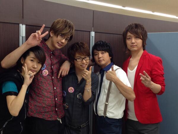 アニメイト池袋本店にて「LOVE STAGE‼︎」イベント終了〜。楽しかったー。代永、江口さん、山本さん、雅友さんのお陰