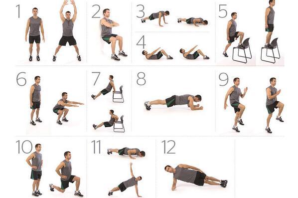 """Domingos de """"No gym¿ No problem!"""" Hoy os traemos 12 ejercicios sin equipamiento para trabajar todo vuestro cuerpo http://t.co/EIY0pGvNzl"""