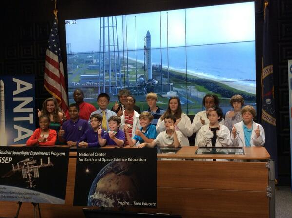 Student Spaceflight Experiments Program #SSEP @NASA_Wallops #Antares launch #NASASocial #Students #Orb2 http://t.co/gvrDFiclJ7