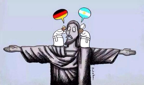 Motivo da indecisão #WorldCupFinal #Alemanha #Germany #Argentina http://t.co/Dk53a4R8fW