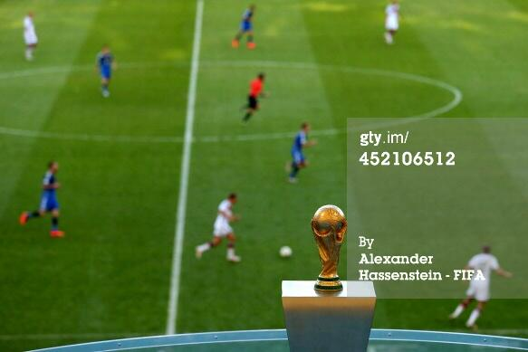 0-0 and into extra time! A great game but we're no closer to knowing who will claim the famous trophy. #ARG #GER http://t.co/T4YaZtxBZR