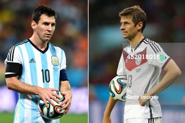 Who wins the #GoldenBall for outstanding player in the #WorldCup? 7 of the 10 finalists will be on the pitch today. http://t.co/Wn2jProit7