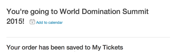 I'm loving #WDS2014 so much that I booked my ticket to #WDS2015!! Much love to @chrisguillebeau for this experience! http://t.co/9Jm0b5ZDBh