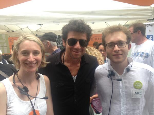 .@PatrickBruelOff visits #FIAFbastille day! Win two tickets to his NY concert @BeaconTheatre http://t.co/5hCb0RwD2T http://t.co/L8EWxqnmUU