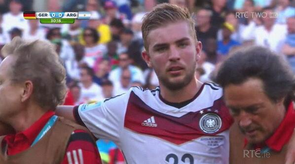 Bscq4MUIYAA2n2  Germanys Christoph Kramer was so concussed that he cant remember yesterdays World Cup final [Pictures]