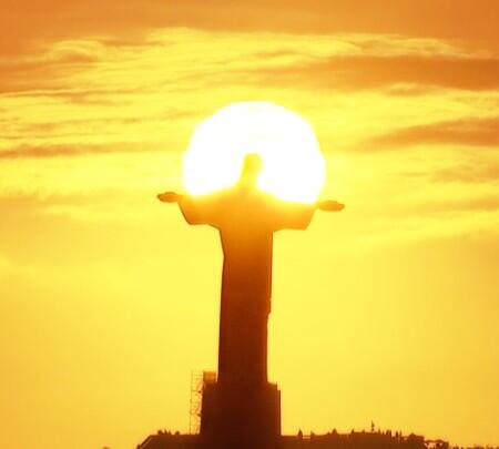 Epic sunset on the #WorldCup http://t.co/MDf557mwMM