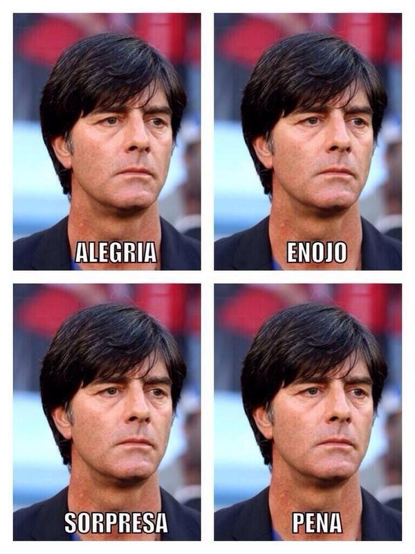 """""""@Nteratedetodo: Estas son los rostros de la pasión de los alemanes #WorldCupFinal http://t.co/rGLI2I0HUM"""""""