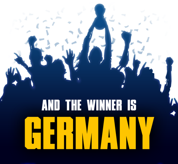 GERMANY wins the #WorldCup! Congratulations! http://t.co/2KQNO1tBSo
