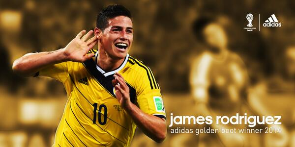 Golden Boot, James Rodríguez. #allin http://t.co/UPmaFiKvzv