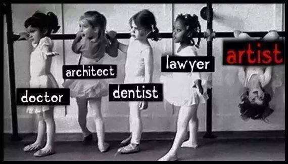 This is why we love artists! via @JonasAlmgren #artists #art http://t.co/H46jIHW2fJ