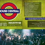 Catch @StevenCee_ at HOUSE CENTRAL CARNIVAL After Party THIS MONDAY At @Industry_LDN 10-7am http://t.co/eTXOzRSjL5 …http://t.co/toPjgz9GDO