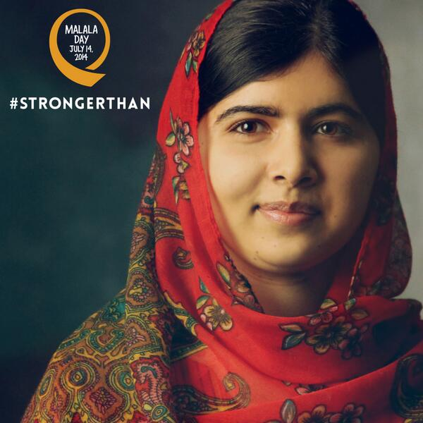 We are standing with @MalalaFund this #MalalaDay July 14. http://t.co/NopsIgLUkf #StrongerThan http://t.co/kx0LNYssuX