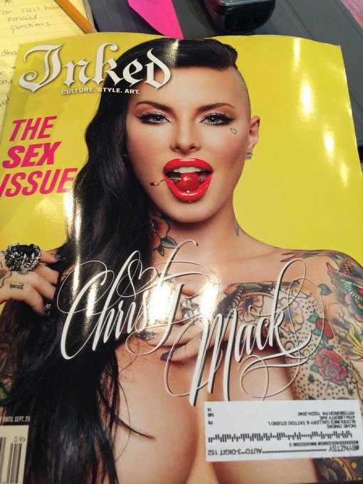 Pick up this month's copy of Inked Mag with me on the cover! http://t.co/Gqs1AVPKA9