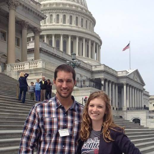 Pumped that @Cardinals Adam Wainwright is starting #AllStarGame 2morrow. Gave him a #Capitol tour earlier this year http://pic.twitter.com/xrbWICALEH