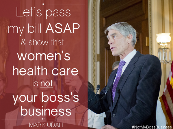#HobbyLobby decision unfairly singled out women. We need to ACT to ensure women's health is #NotMyBossBusiness. http://t.co/I91jPfmoXV