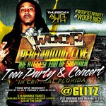 RT @WARZ_CSRPromo: THURSDAY #August7 @TheRealWoopWoop Performing Live #WoopTEENPARTY at #Glitz #Orlando 8pm-Midnight! @IAMDJ4D http://t.co/PhDdIr1Rwn