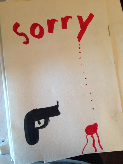 And now I share the sympathy card a fourth grade classmate sent after my uncle was shot: http://t.co/mnOfZYl4b0
