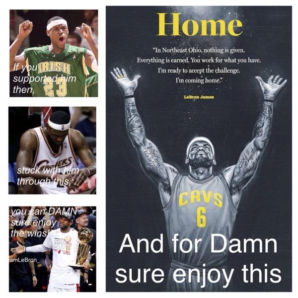 #TeamLeBron  @KingJames http://t.co/Aama45Fscc