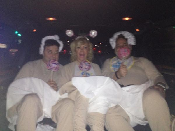 RT @HOTtamaleTRAIN: Don't ask why I'm in a limo like this but you will soon know #Sytycd http://t.co/YJE4iux4M9
