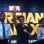 Guardians of the Galaxy opens in #Singapore tmr! This happened when the #GotG stars came http://t.co/v6km4fUEEM http://t.co/VEOazQNGyL