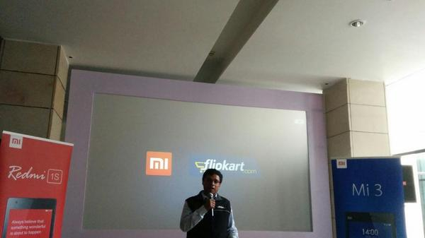 Sachin Bansal the CEO and Co Founder of @flipkart talking about their partnership with @xiaomi http://t.co/Q2bxDI8DGf