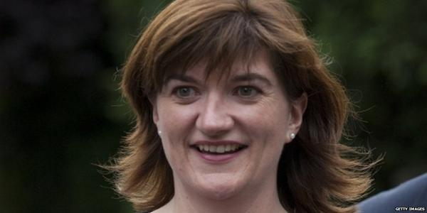 Nicky Morgan Named As Education Secretary In Pm David