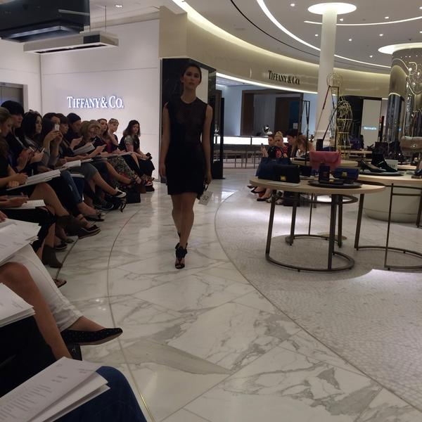 Niamh Walsh (@niamhie11): Legs out are in for #BTAW2014 @brownthomas http://t.co/0vIE8Cj7rv