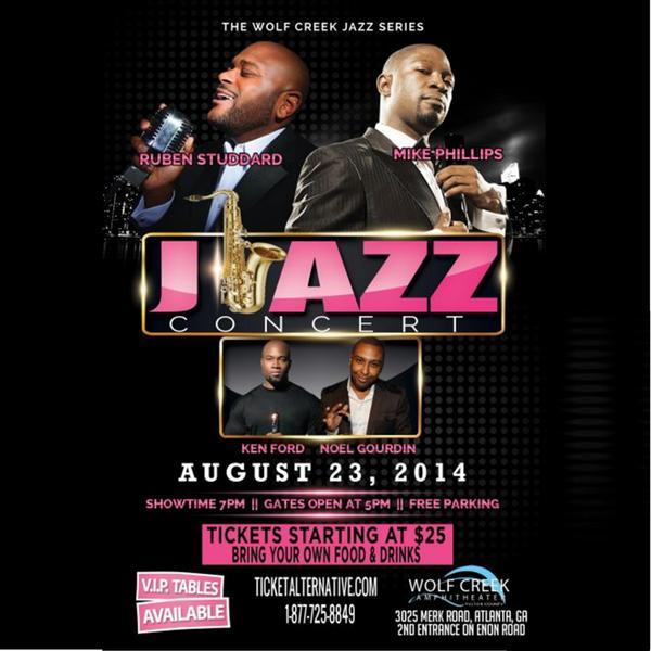 #Jazzness @WolfCreekEvents #Aug23 @RubenStuddard @m_dot_philly  @kenfordmusic @NoelGourdin  http://t.co/CXuQwHmRIo http://t.co/JJvssIu4ju