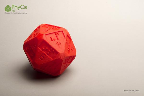 Idellwig twenty-sided die adds braille numbers for blind gamers. http://t.co/JunTXYW61p http://t.co/yKCYiNjCOd