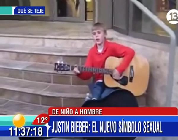 Así partió su carrera Justin Bieber: Revisamos el video en #Bienvenidos13 http://t.co/cRu81LEZKt