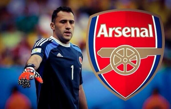 El Arsenal ficha al Portero colombiano David Ospina