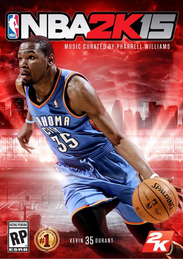 Kevin Durant (@KDTrey5): Official @NBA2K cover #NBA2K15 #YourTimeHasCome http://t.co/Miocokj4FO