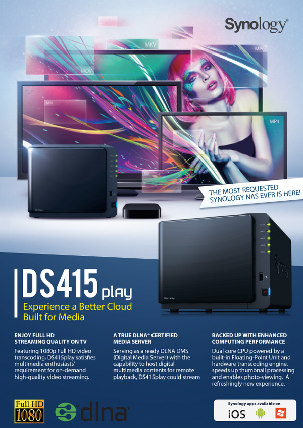 It has arrived- announcing the DS415play http://t.co/zj2ZfXTjIr  RT to enter to win one! Contest ends 7/20, worldwide http://t.co/2ElVK6Mlyt