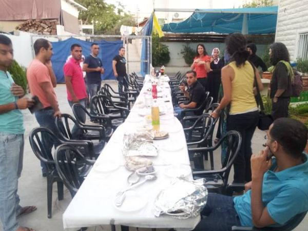 Right Now: Jews and Muslims prepare to break today's fast together in Rahat, a Bedouin town in the Negev. http://t.co/cGhAJ8dhWG